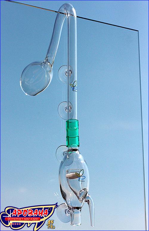 Aquasys проточный реактор CO2 значительно увеличивает концентрацию растворенного СО2 в воде за меньший промежуток времени.