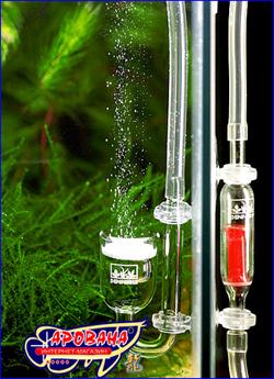 СО2-Crystal-Set 125 становка для подачи СО2 для нано-аквариумов.