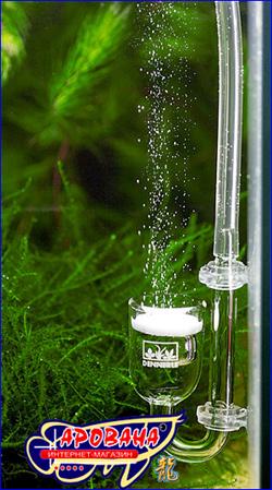 Распылитель Dennerle CO2 Diffusor-Topf Mini  идеально подходит для небольших и очень маленьких аквариумов.