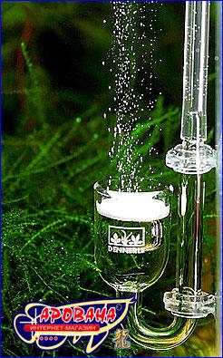 Распылитель Dennerle CO2 Diffusor-Pfeife Mini  идеально подходит для небольших и очень маленьких аквариумов.
