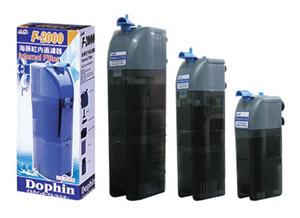 Dophin F-800 - тихий в работе, аквариумный фильтр с большой пропускной способностью и эффективной регуляцией производительности.