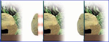 Убежище пещера для террариумов Exo Terra Reptile Den Large