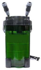 Внешний канистровый фильтр Jebo 805 для очищения воды в пресноводном или морском аквариуме.